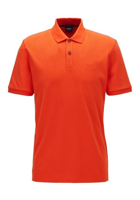 Polo pallas regular-fit two-button - bright orange BOSS | Polo Shirts | 50425985820