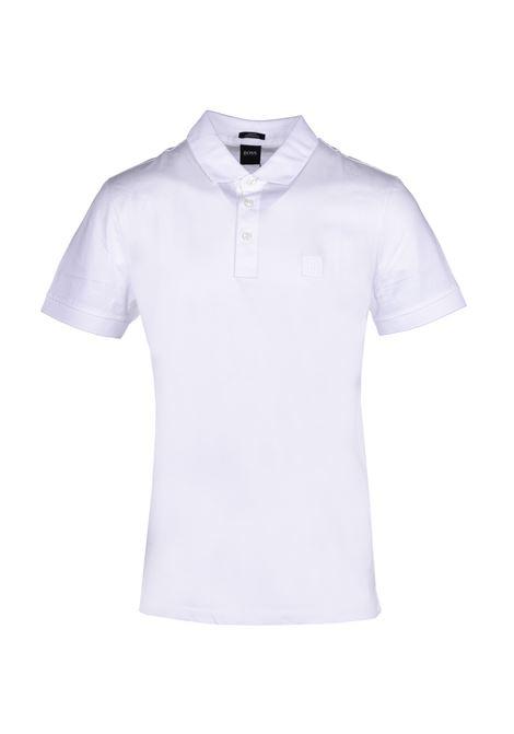 polo penrose con logo sul colletto - bianco BOSS | Polo | 50426057100