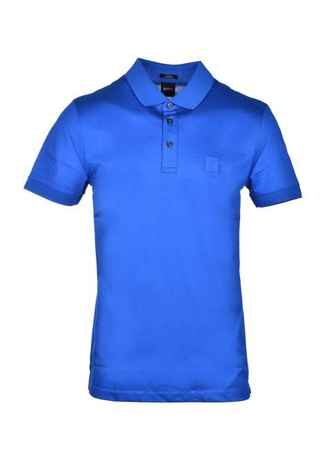 polo penrose con logo sul colletto - blu BOSS | Polo | 50426057426