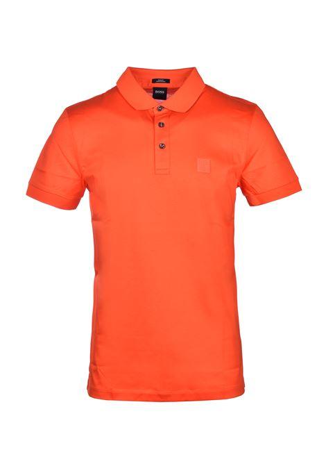 Penrose cotton polo - Bright orange BOSS | Polo Shirts | 50426057820