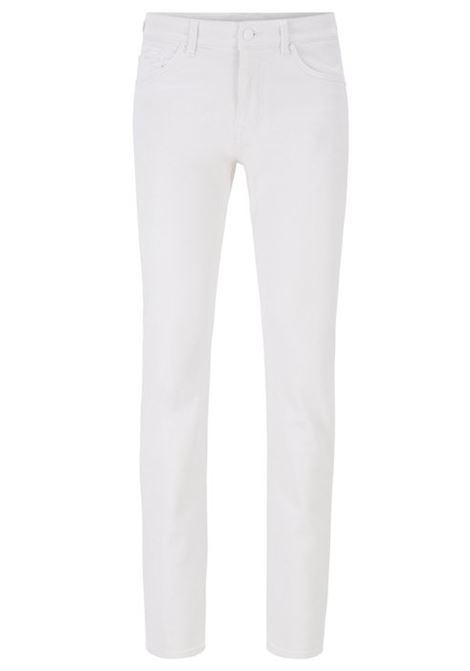 Slim-fit jeans in super-soft white denim BOSS | Jeans | 50426531100