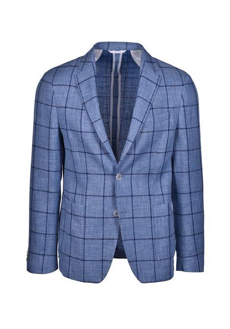 Nold blazer regular fit two buttons - open blue BOSS | Blazers | 50427023479