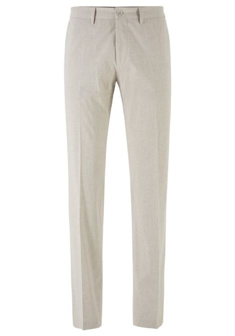 Extra-slim-fit trousers in stretch cotton BOSS | Trousers | 50427200275