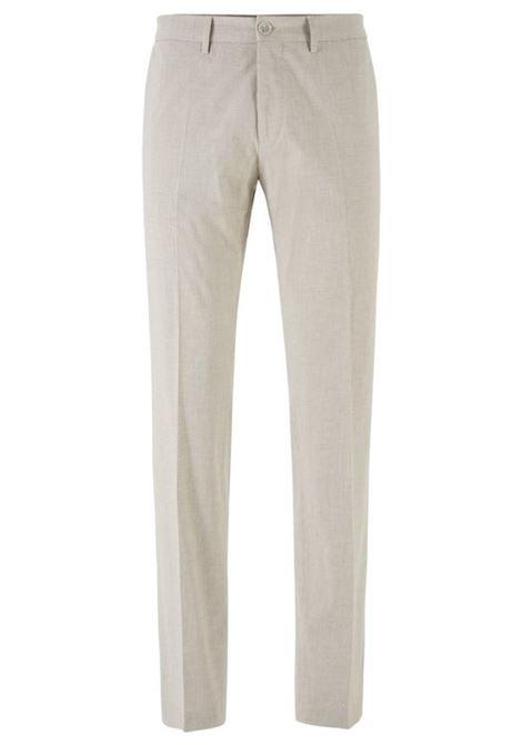 Pantaloni wilson extra slim - beige chiaro BOSS | Pantaloni | 50427200275