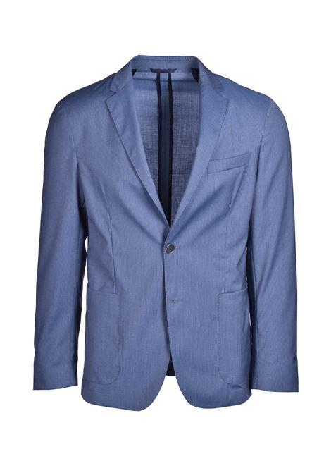 Nold blazer slim fit in virgin wool - blue BOSS | Blazers | 50427253473