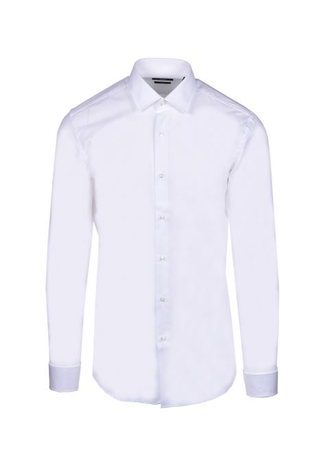 jaques Slim fit shirt with double cuff - white BOSS | Shirts | 50427947100