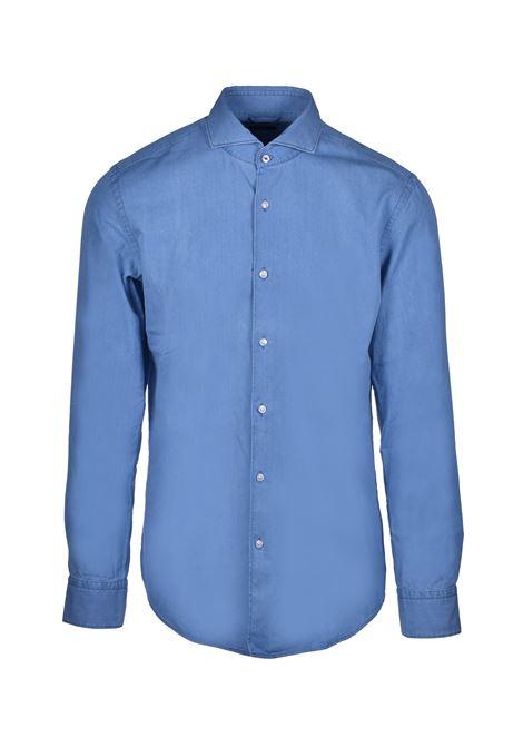 jemerson classic slim fit cotton shirt - blue BOSS | Shirts | 50428461460