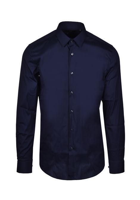 isko Camicia classica slim fit - blu BOSS   Camicie   50428470410