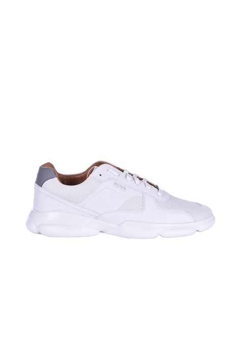 Rapid Sneakers in leather - white BOSS | Shoes | 50428502100