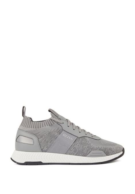 titanium sneakers Running-style - light grey BOSS | Shoes | 50428541060