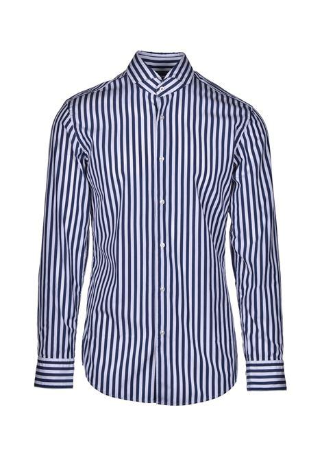 jemerson classic striped cotton shirt - blue BOSS | Shirts | 50428963474