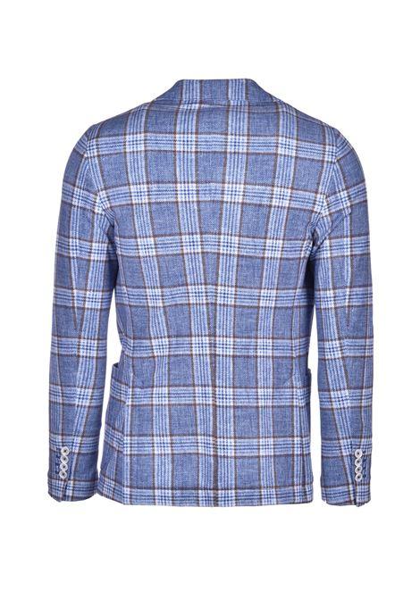 Check pique jacket - blue CIRCOLO 1901 | Blazers | CN2634ESBLU