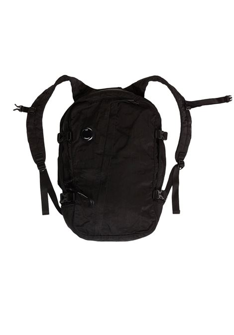 Garment Dyed Nylon Sateen Mid Backpack C.P. COMPANY | backpack | 08CMAC226A-005269G999