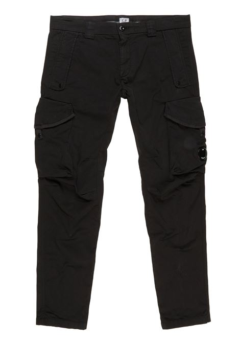 Garment Dyed Stretch Sateen Tactical Pants C.P. COMPANY | Trousers | 08CMPA119A-005694G999