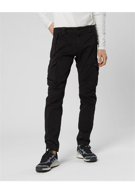 Garment Dyed Stretch Sateen Tactical Pants C.P. COMPANY | Trousers | 08CMPA119A005694G999