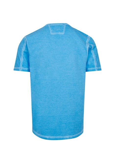 short sleeve Marl T-Shirt - riviera C.P. COMPANY | T-shirt | 08CMTS228A005697S818