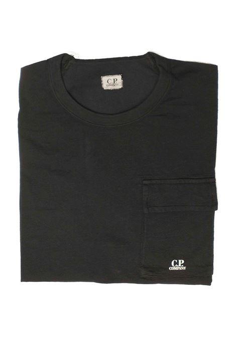 T-shirt man in light cotton C.P. COMPANY | T-shirt | 08CMTS300A005433O999