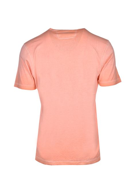 Re-colour T-shirt in jersey di cotone makò - arancione C.P. COMPANY | T-shirt | 08CMTS304A000444S499