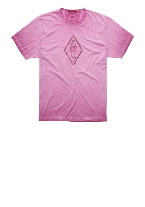 Re-Colour Makò Jersey Faded Diamond T-Shirt C.P. COMPANY | T-shirt | 08CMTS305A000444S712
