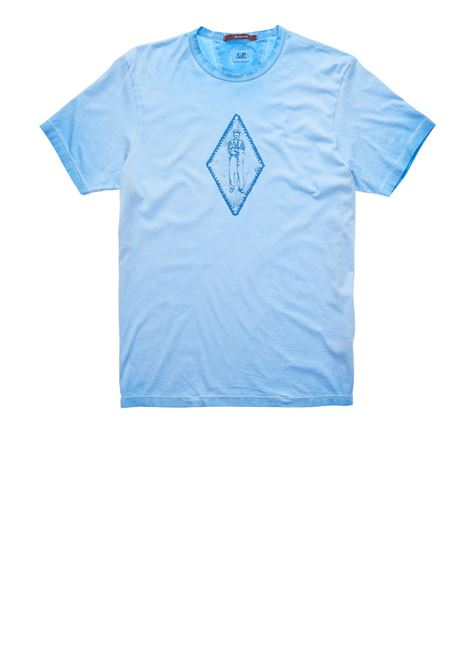 Re-Colour Makò Jersey Faded Diamond T-Shirt C.P. COMPANY | T-shirts | 08CMTS305A-000444S818