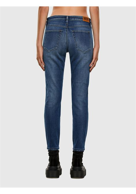 babhila slim jeans - medium blue DIESEL | Trousers | 00S7LX 0098Z01