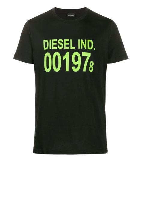 Cotton T-shirt with logo DIESEL | T-shirts | 00SASA 0AAXJ900