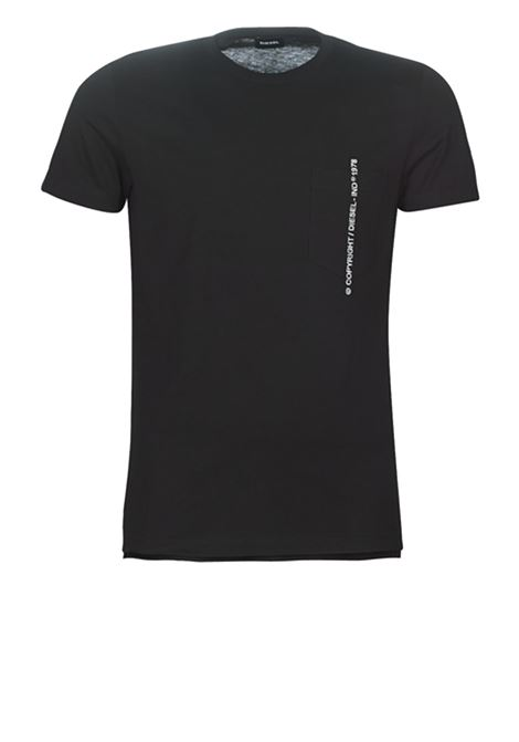 T-rubin poket j1 DIESEL | T-shirts | 00SASJ 0AAXJ900