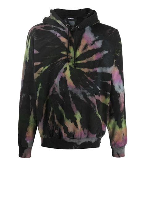 Tie-dye hoodie DIESEL | Sweatshirt | 00SEFB 0CAYF900B