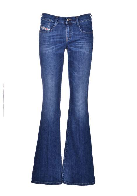 d-ebbey Bootcut jeans - medium blue DIESEL | Trousers | 00SMMV 086AM01