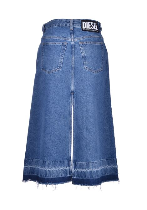 de-ingrid Denim midi skirt DIESEL | Skirts | 00SUNZ 0076X01