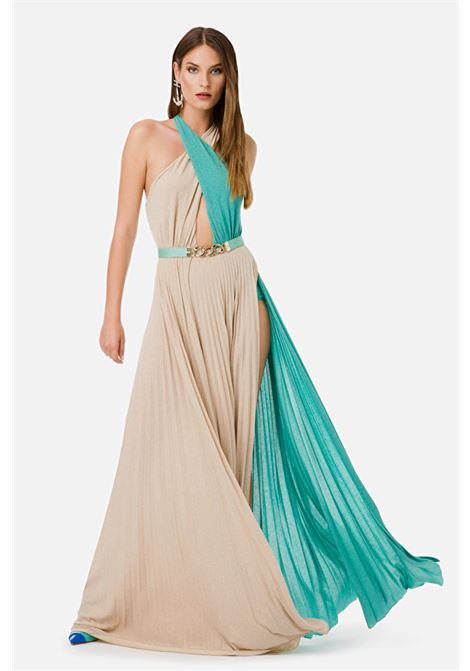 Long dress with belt ELISABETTA FRANCHI | Dresses | AB16201E2Y43