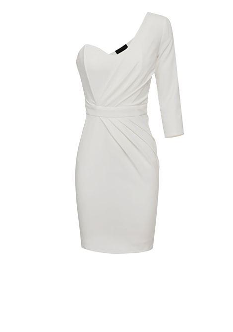 Short one-shoulder dress ELISABETTA FRANCHI | Dresses | AB17801E2360