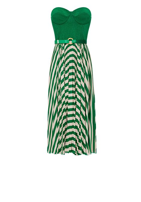 Sleeveless dress with belt ELISABETTA FRANCHI | Dresses | AB18001E2X02