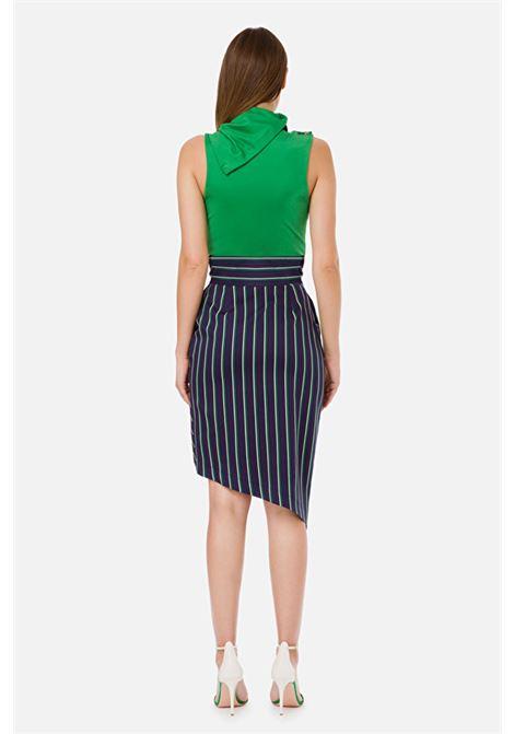 Asymmetric skirt ELISABETTA FRANCHI | Skirts | GO36701E2X30