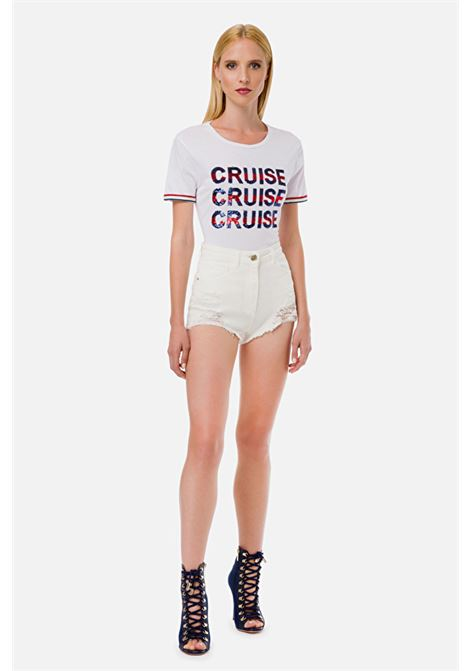 T-shirt Cruise ELISABETTA FRANCHI | Maglieria | MA16801E2270