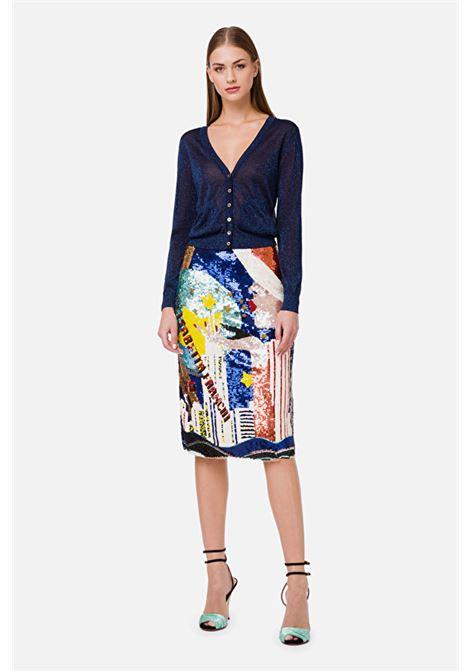 Cardigan with buttons ELISABETTA FRANCHI | Knitwear | MK39S02E2Y02