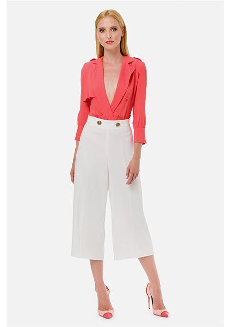 Wide leg trousers ELISABETTA FRANCHI | Trousers | PA05401E2360