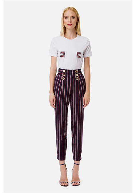 Cigarette trousers ELISABETTA FRANCHI | Trousers | PA05701E2Y69
