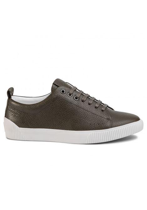 Sneakers in stile tennis in pelle HUGO | Scarpe | 50414642001
