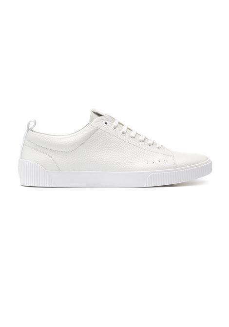 Sneakers in stile tennis in pelle HUGO | Scarpe | 50414642100
