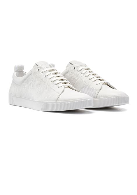 Sneakers in stile tennis in pelle HUGO | Sneakers | 50414642100