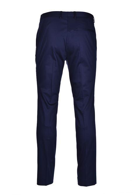 arti hesten Abito regular fit in satin di cotone elasticizzato - blue HUGO | Abiti | 50427397405