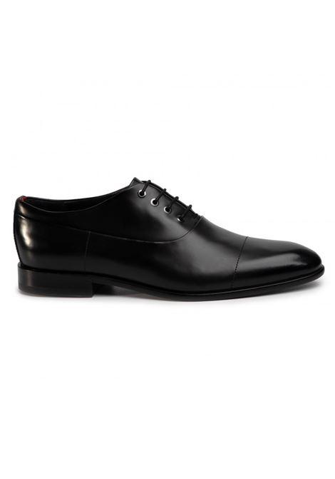 Scarpe derby in pelle liscia - nero HUGO | Scarpe | 50428693001