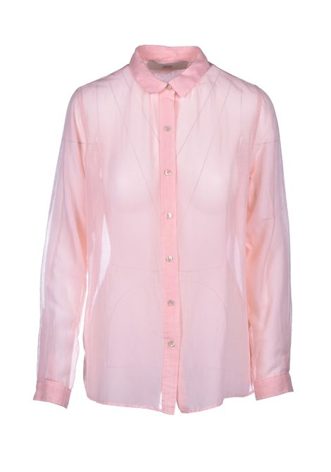 classic shirt in silk and cotton - pink JUCCA | Shirts | J3112125311