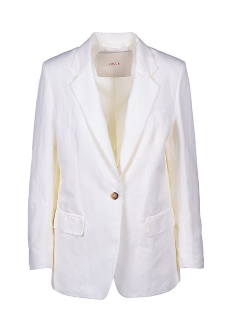 blazer with cream patch pockets JUCCA | Blazers | J3113013045