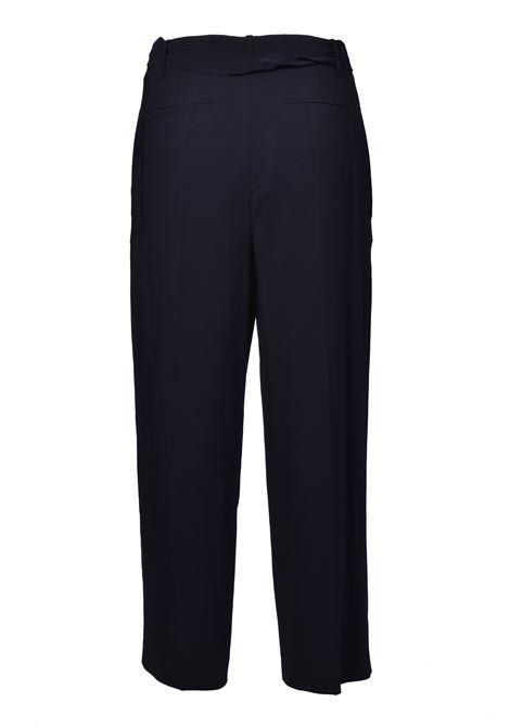 Pantalone a vita alta con cintura - nero JUCCA | Pantaloni | J3114008003