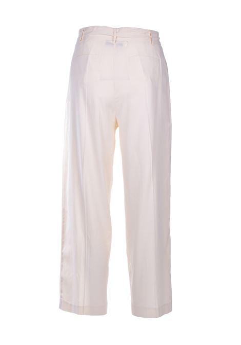 Pantalone a vita alta con cintura - panna JUCCA | Pantaloni | J3114008045