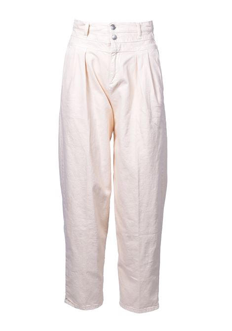High waist trousers with double button - Banana JUCCA | Trousers | J31140161634