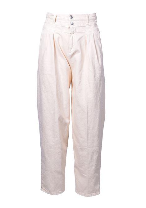 Pantalone vita alta con doppio bottone - Banana JUCCA | Pantaloni | J31140161634