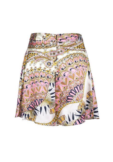 Wide patterned short - sorbet JUCCA | Shorts | J3114027/V1306